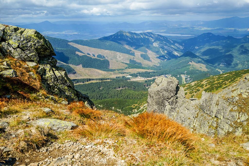 Aussicht Chopok Niedere Tatra Slowakei