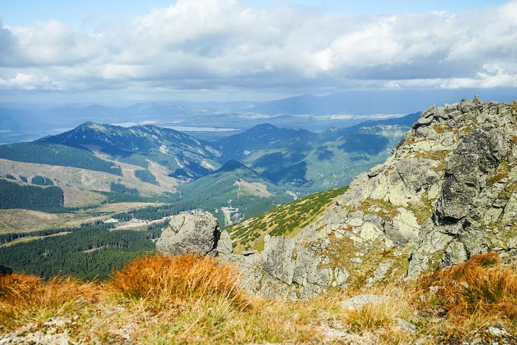 Aussicht Chopok Niedere Tatra Wandern