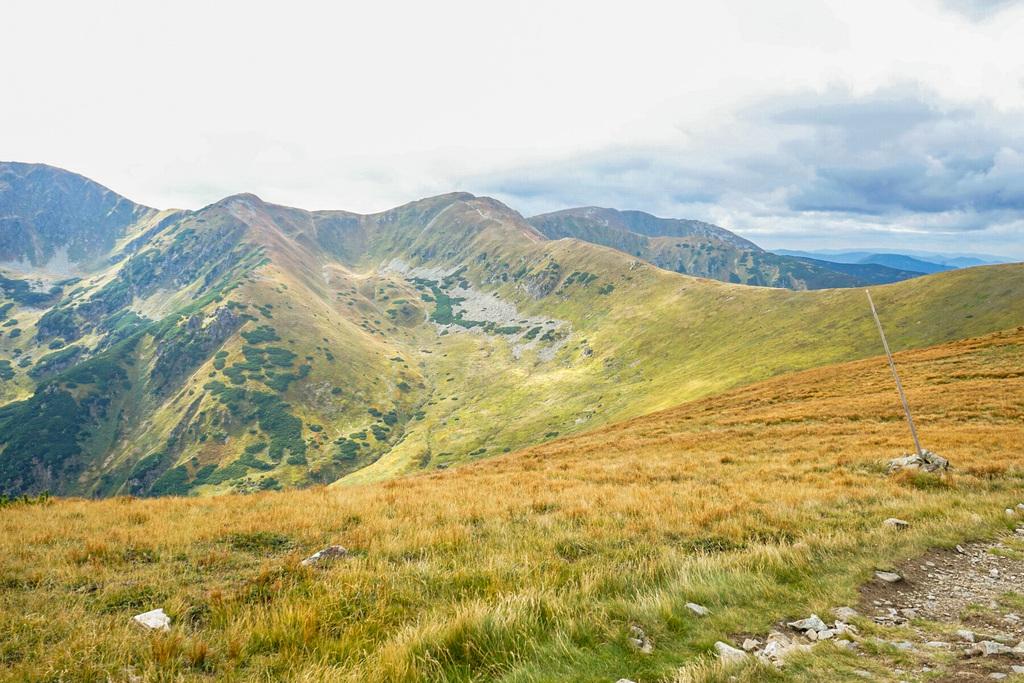 Niedere Tatra Aussicht