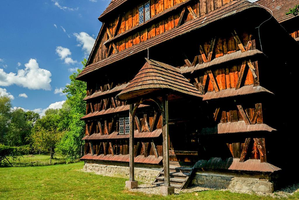 Sehenswürdigkeiten Slowakei: Holzkirchen im Nordosten