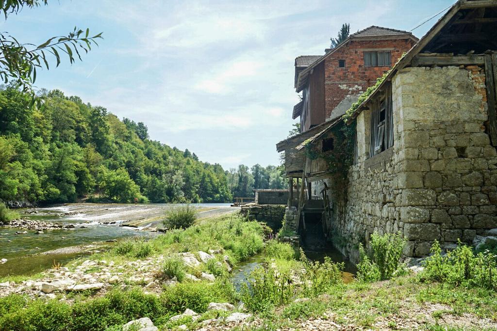 Geheimtipp Slowenien Schwimmen Kolpa