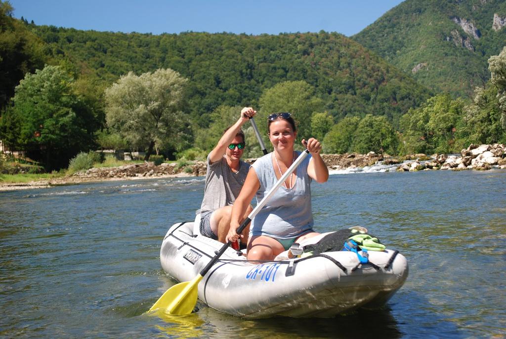 Kanutour Slowenien Kolpa River