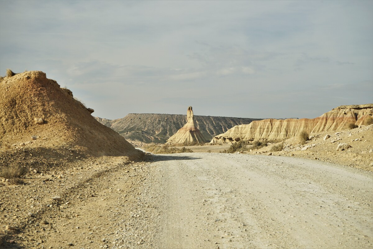 Route durch die Bardenas Reales