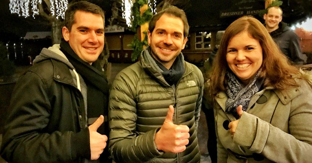 Stefan Tschumi mit Lui & Steffi
