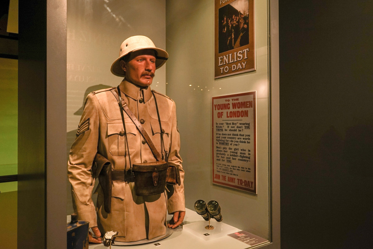 Canakkale Kriegsmuseum auf Gallipoli: Ausstellung Krieger