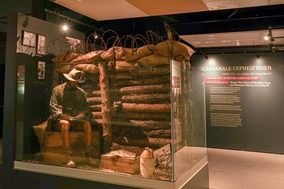 Canakkale Kriegsmuseum auf Gallipoli: Ausstellung