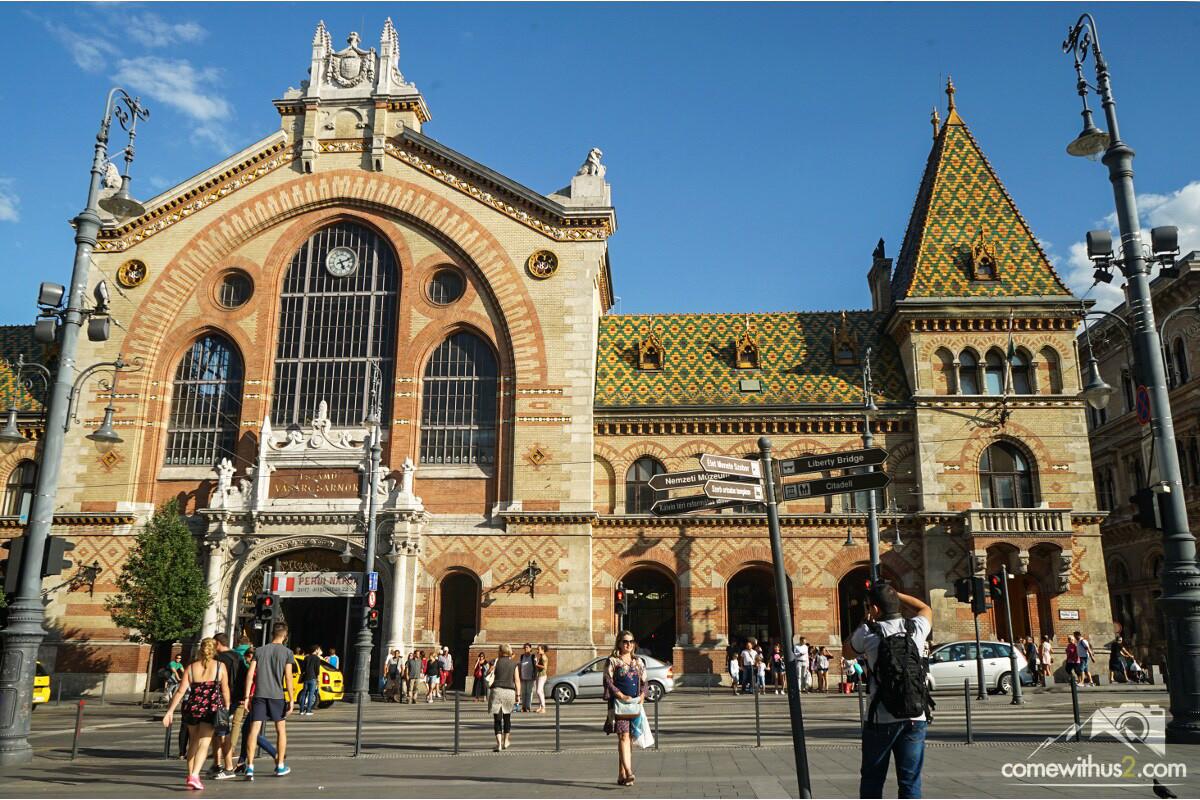 Grosse Markthalle, Budapest Sehenswürdigkeiten Highlights
