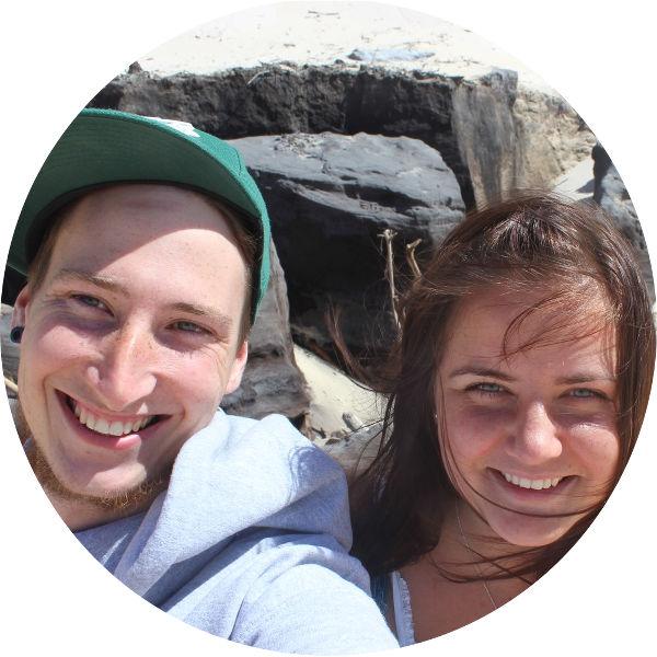Portrait von jungem Paar