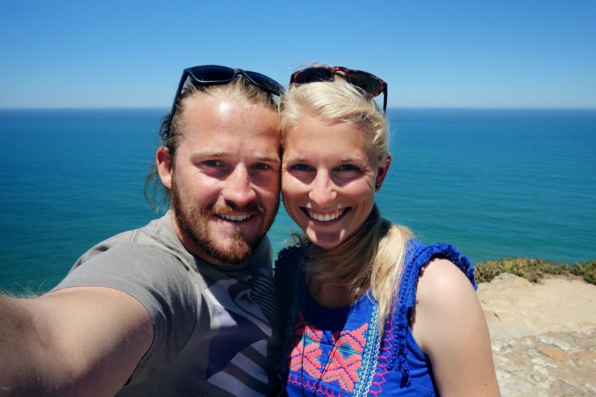 Kathi und Paul am Meer