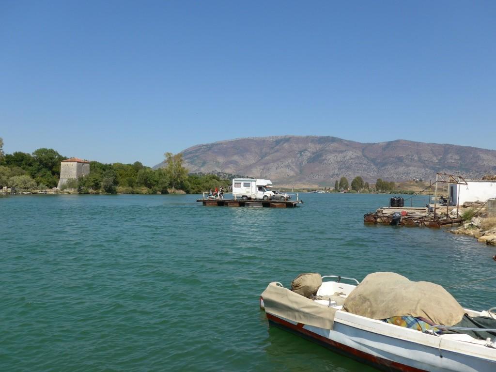 Fähre Butrint Albanien