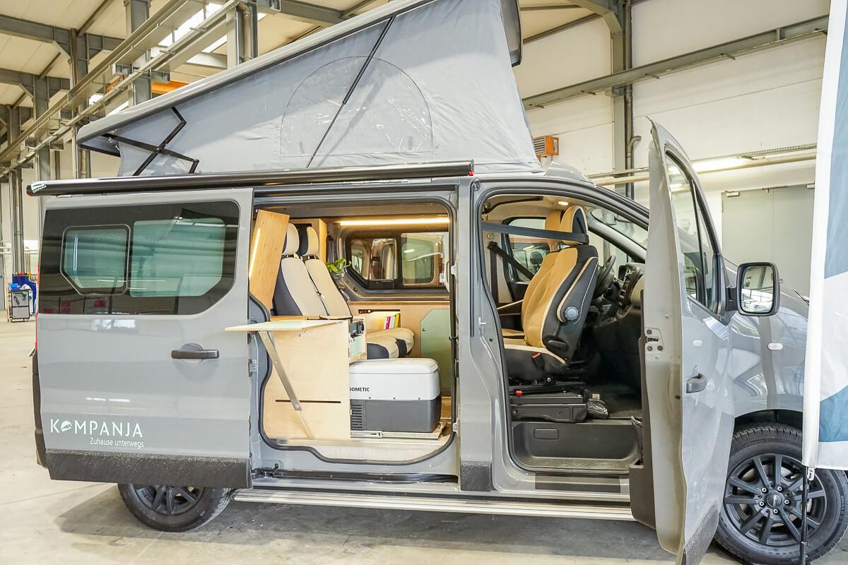 Mini-Camper, Campervan, Kompanja, Aussenansicht