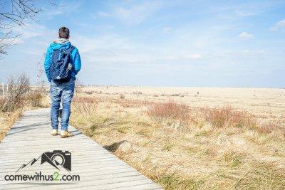 Wandern im Hohen Venn in Belgien