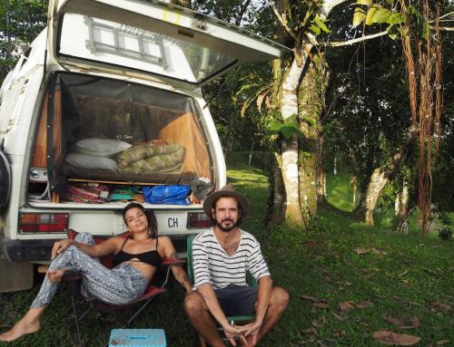 Mit meinem Bett in: Gabriella und Sandro im Interview