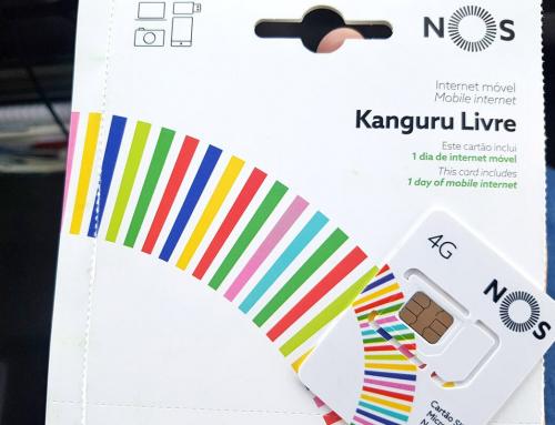 NOS SIM Kanguru Livre XL: unbegrenzt Internet in Portugal