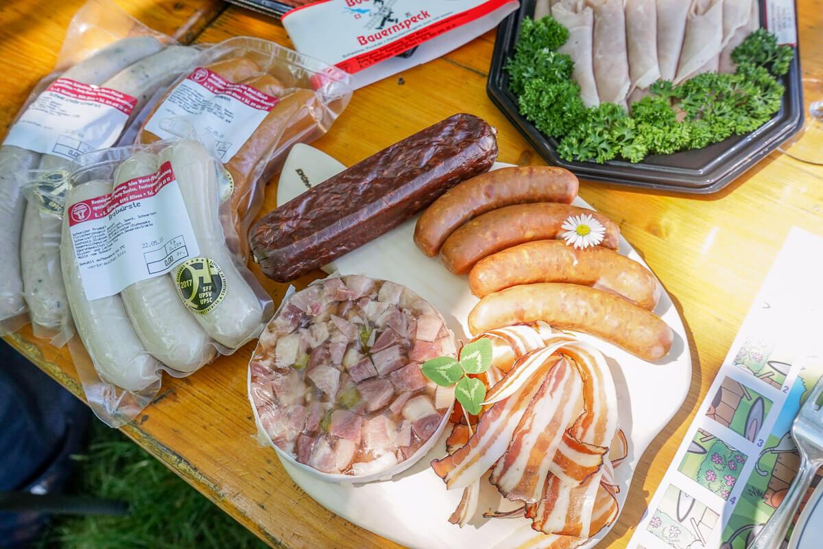 Fleischspezialitäten vom Metzger: Ochsen Metzgerei Wattinger vom Bodensee