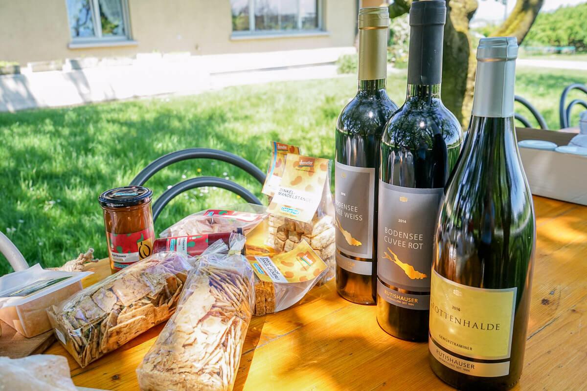 Rutishauser Weinkellerei AG: Weinhandel in Scherzingen am Bodensee