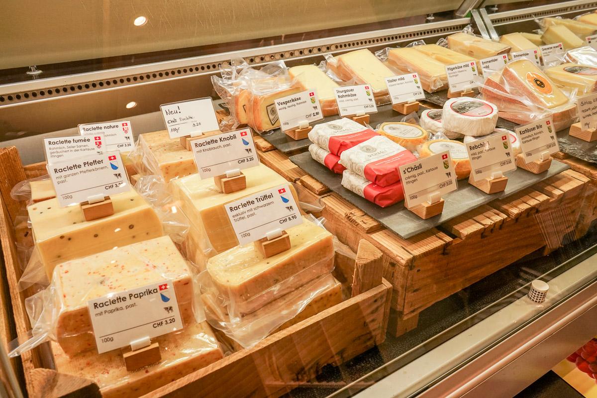 Thurgauer Spezialitäten: Schlaraffenland - Käse