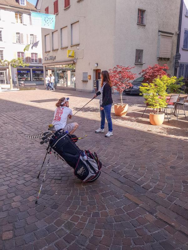 Stadtgolf Frauenfeld Thurgau Aktivitäten