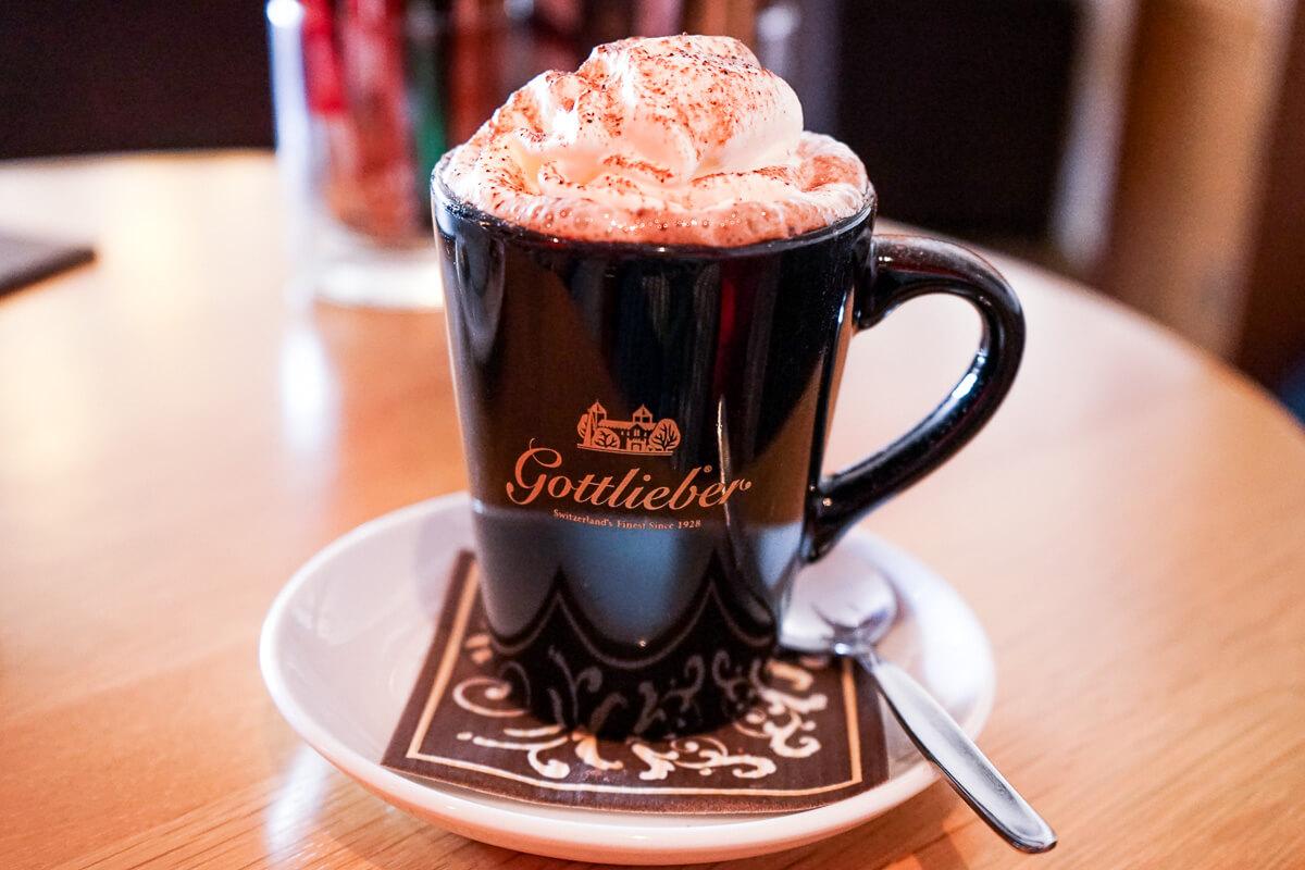 Leckere Getränke im Seecafe Gottlieben