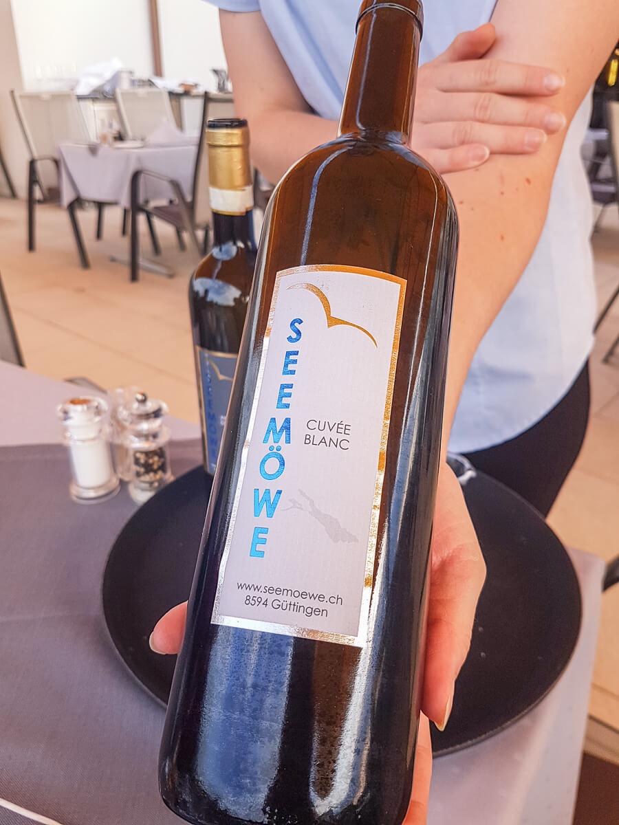 Weinkeller der Seemöwe Altnau