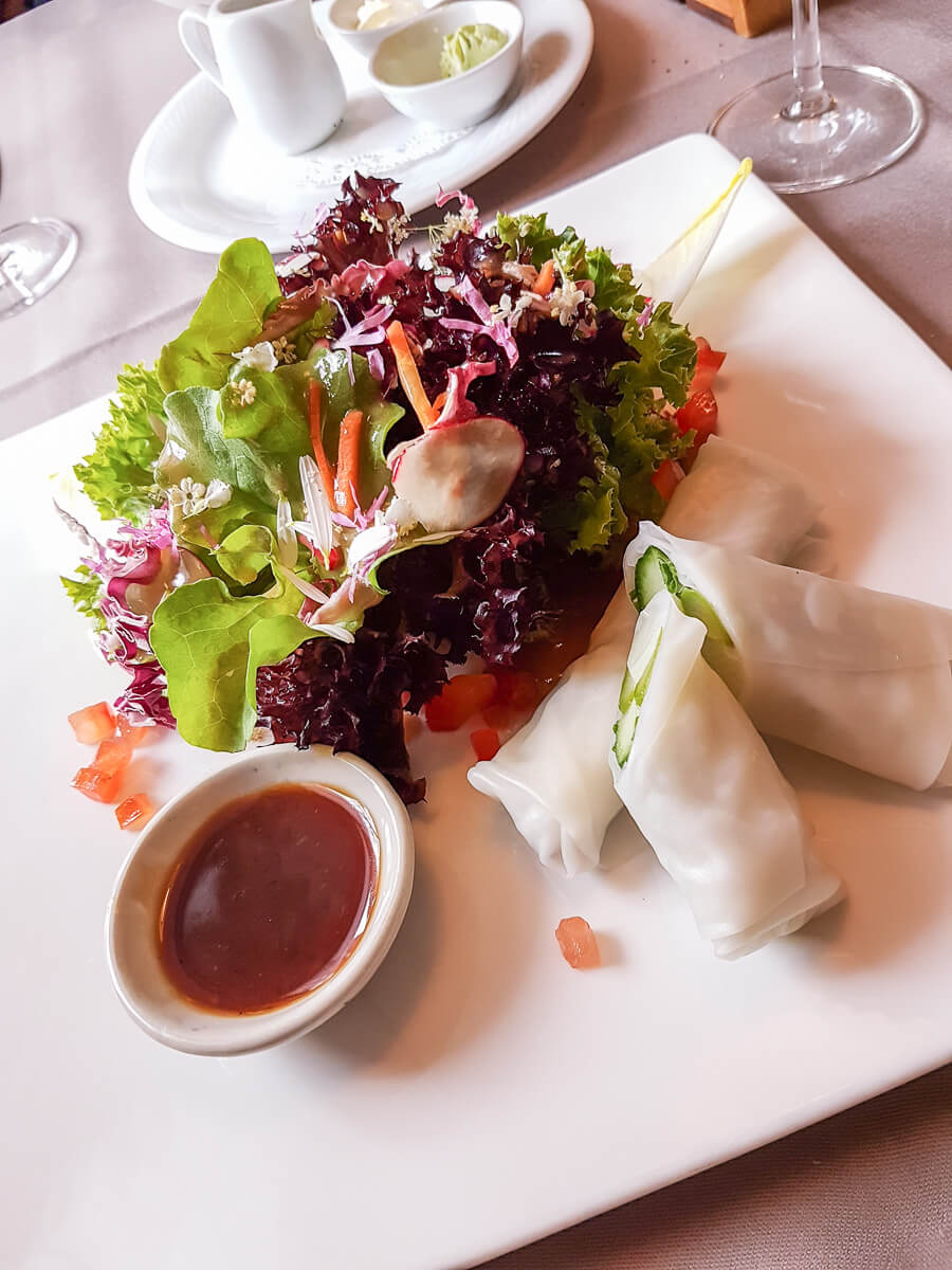 Regional und Saisonal essen im Thurgau: Schloss Hagenwil