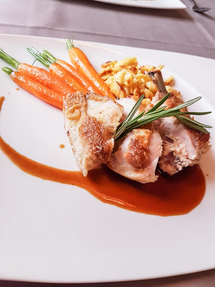 lecker Essen in Amriswil - Restaurant-Tipp Wasserschloss Hagenwil