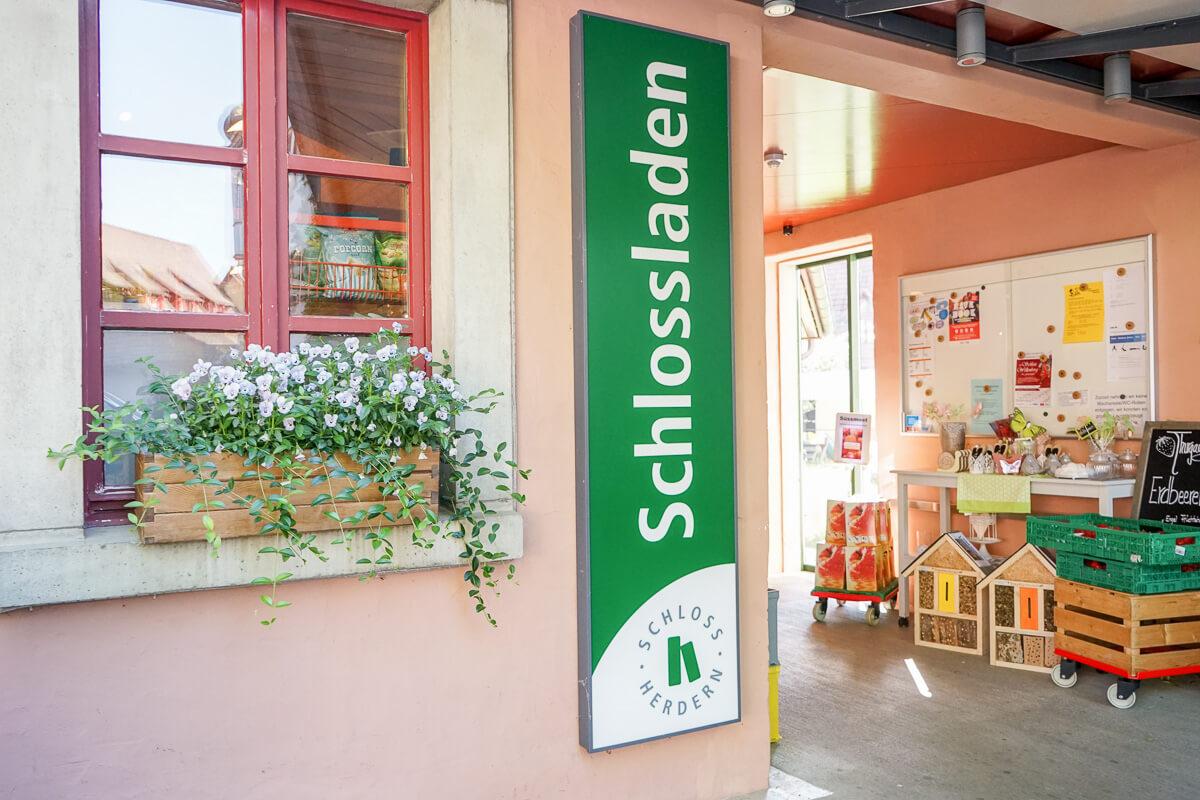 Schlossladen Herdern Spezialitäten eigene Produkte