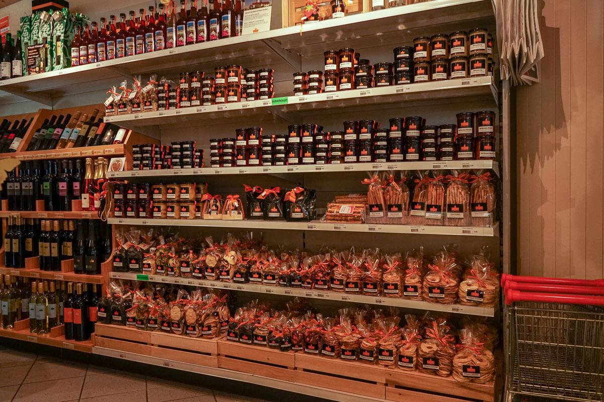 Schlossladen Herdern Spezialitäten eigene Produkte Konfi Grissini
