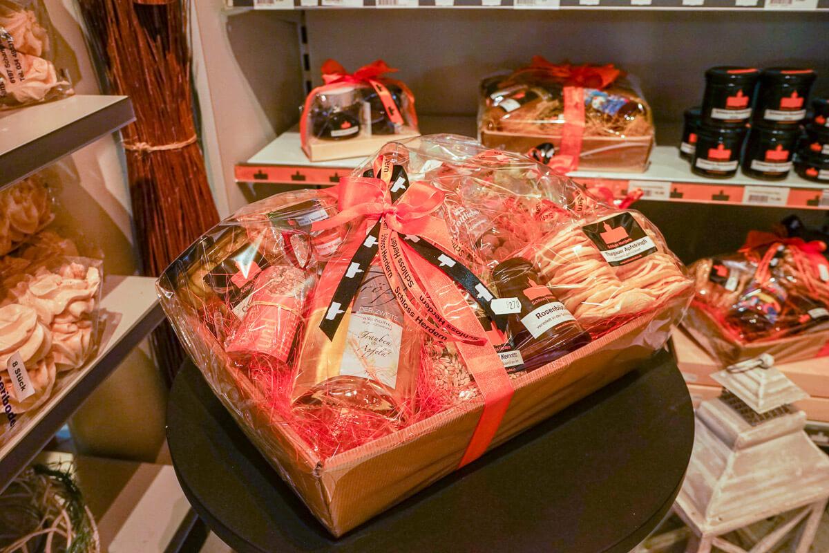 Schlossladen Herdern Spezialitäten eigene Produkte Geschenke