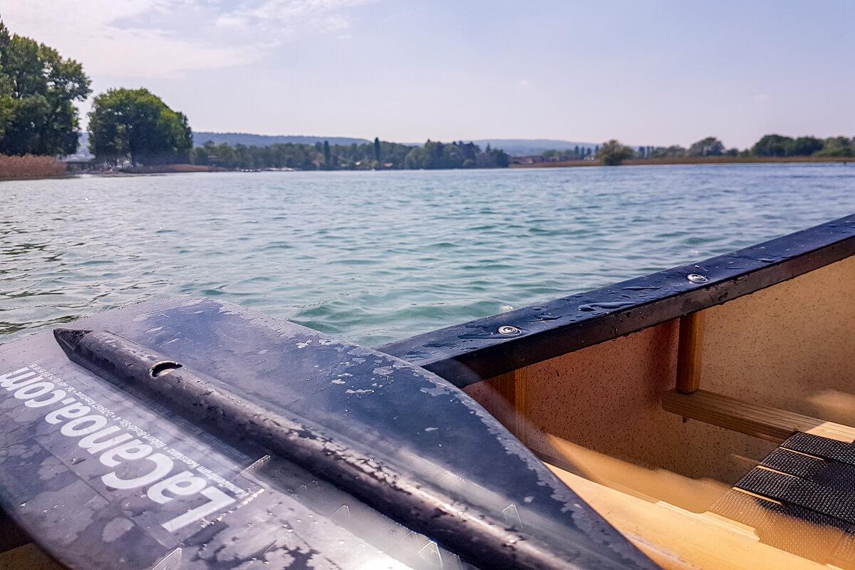 Kanutour Bodensee, Rhein, Untersee