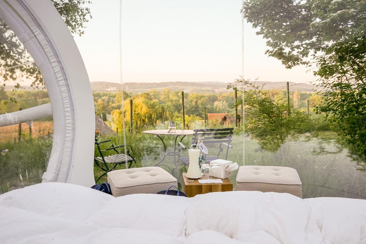 Bubble-Hotel Schweiz: Himmelbett im Thurgau