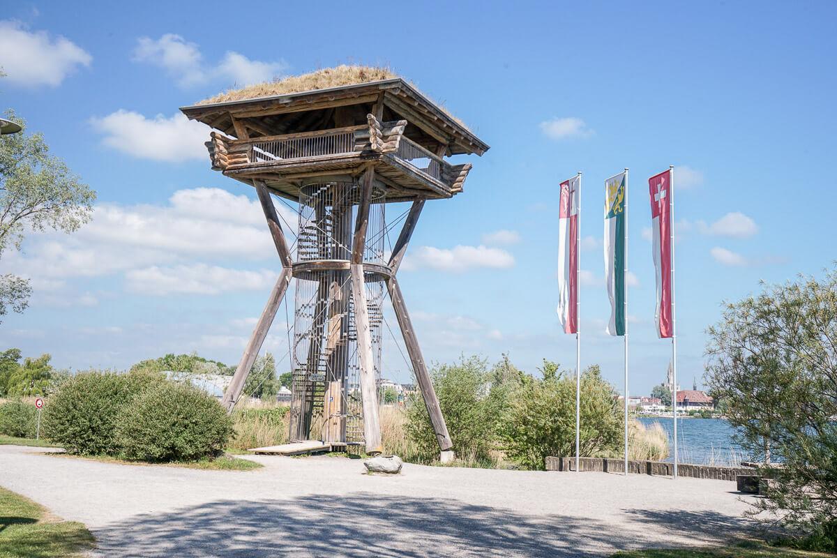 Seeburg Park Kreuzlingen Aussichtsturm