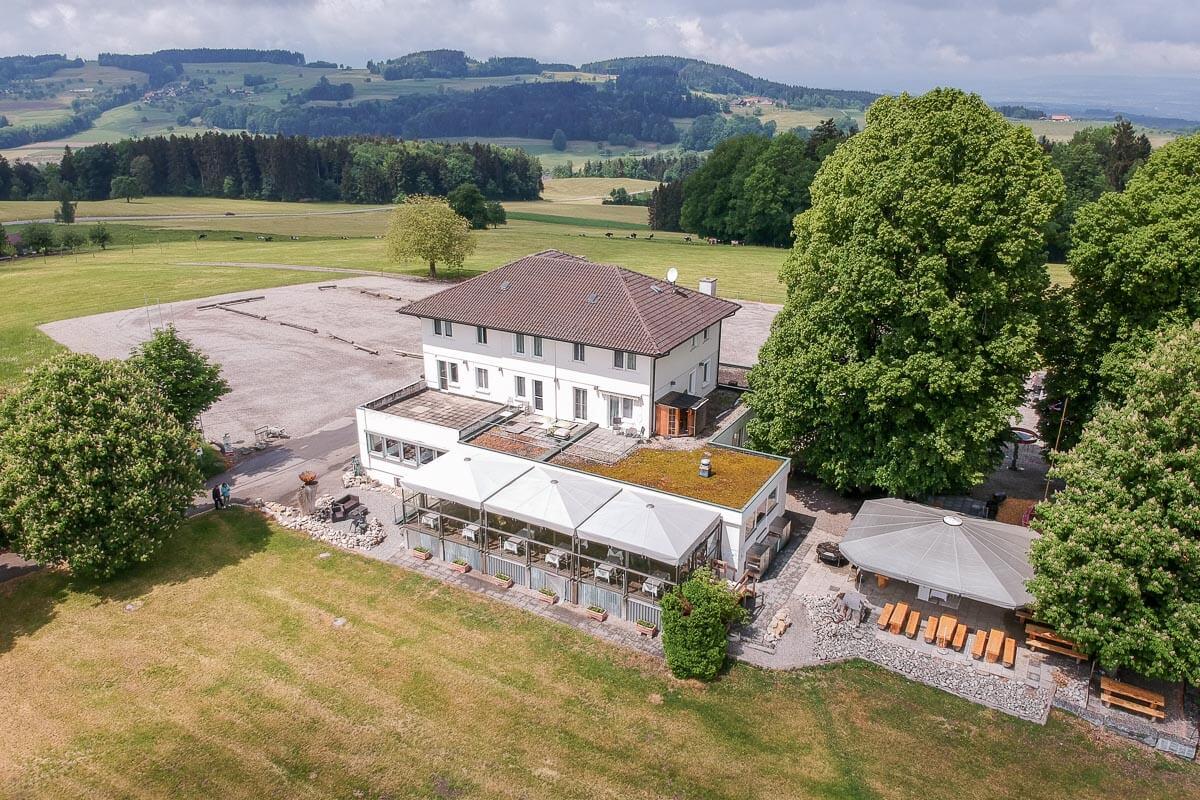 Restaurant Nollen: Essen, feiern, schlafen im Thurgau mit Aussicht