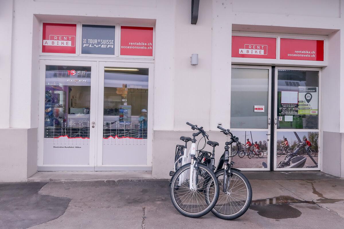 Rent a Bike - Velo, E-Bike und Ausrüstung mieten im Thurgau