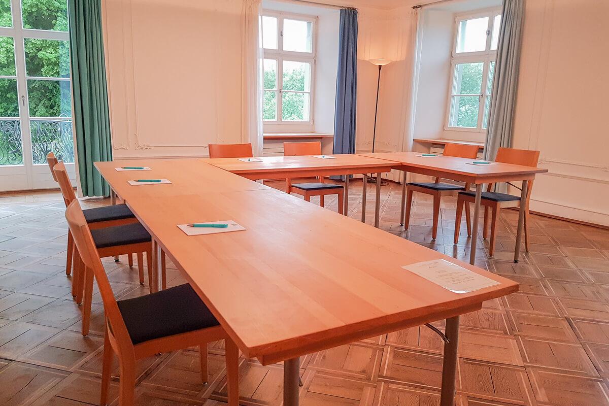 Event- und Seminarräume im Thurgau mit Catering: Schlosshotel Wartegg