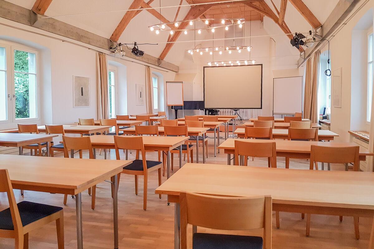 Seminar- und Eventräume am Bodensee: Bio Schlosshotel Wartegg