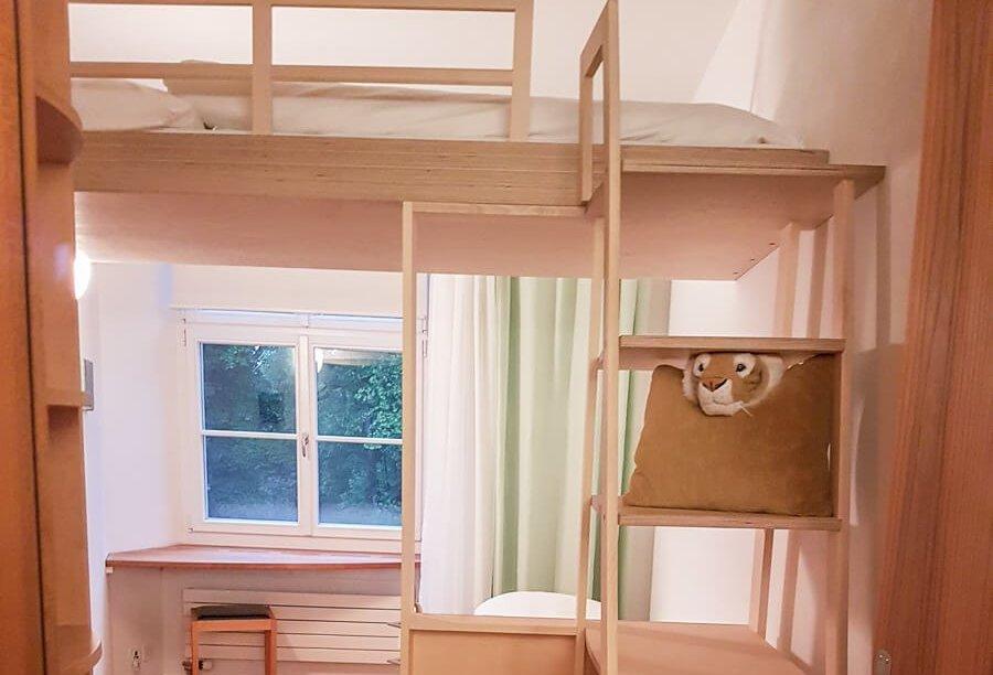 Familienzimmer mit zwei getrennten Schlafräumen - Schlosshotel Wartegg