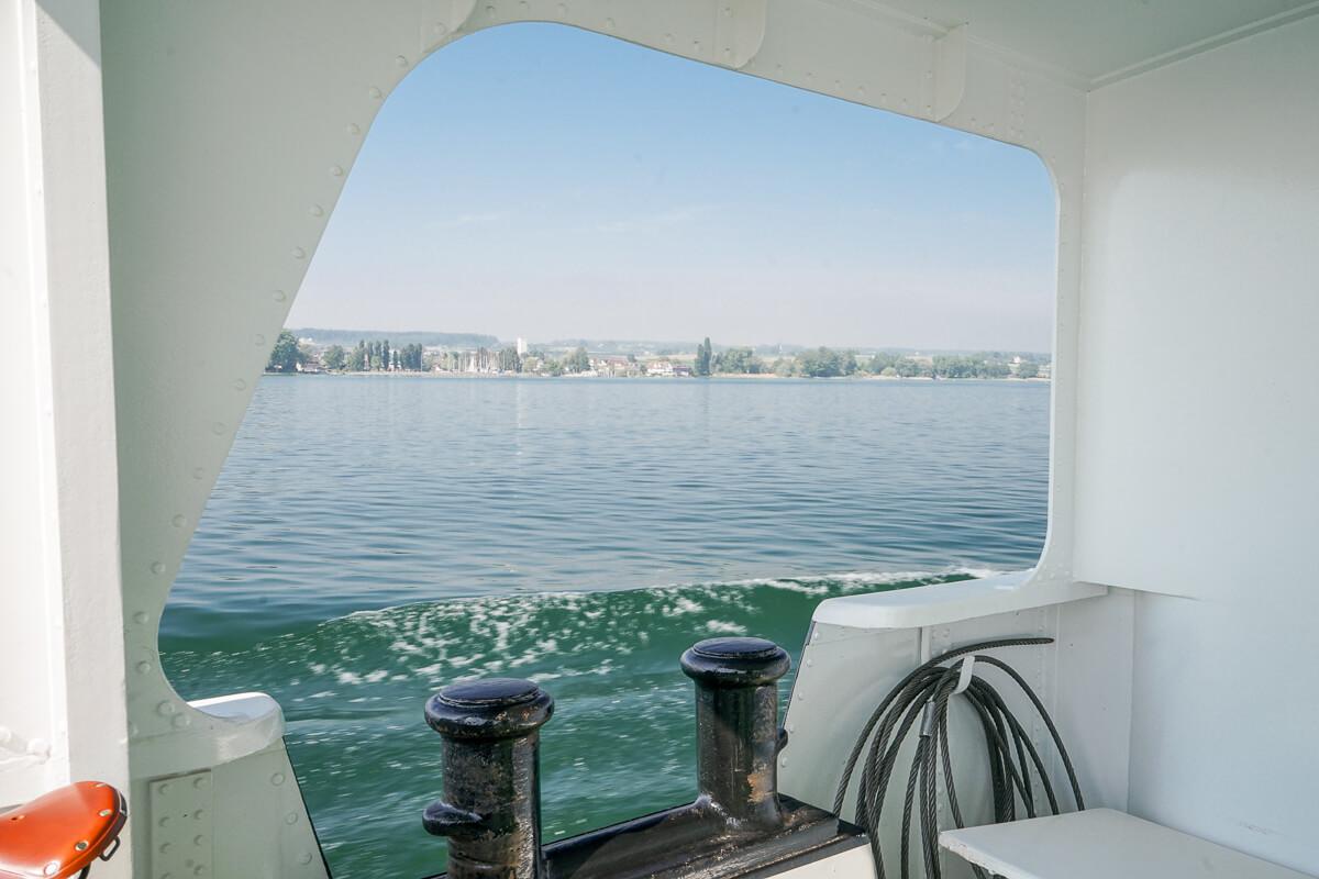 Bodensee Schiffahrt Aussicht