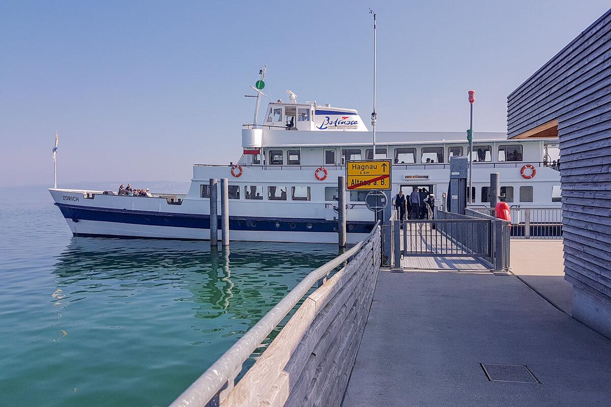 Bodensee Schifffahrt Schweiz