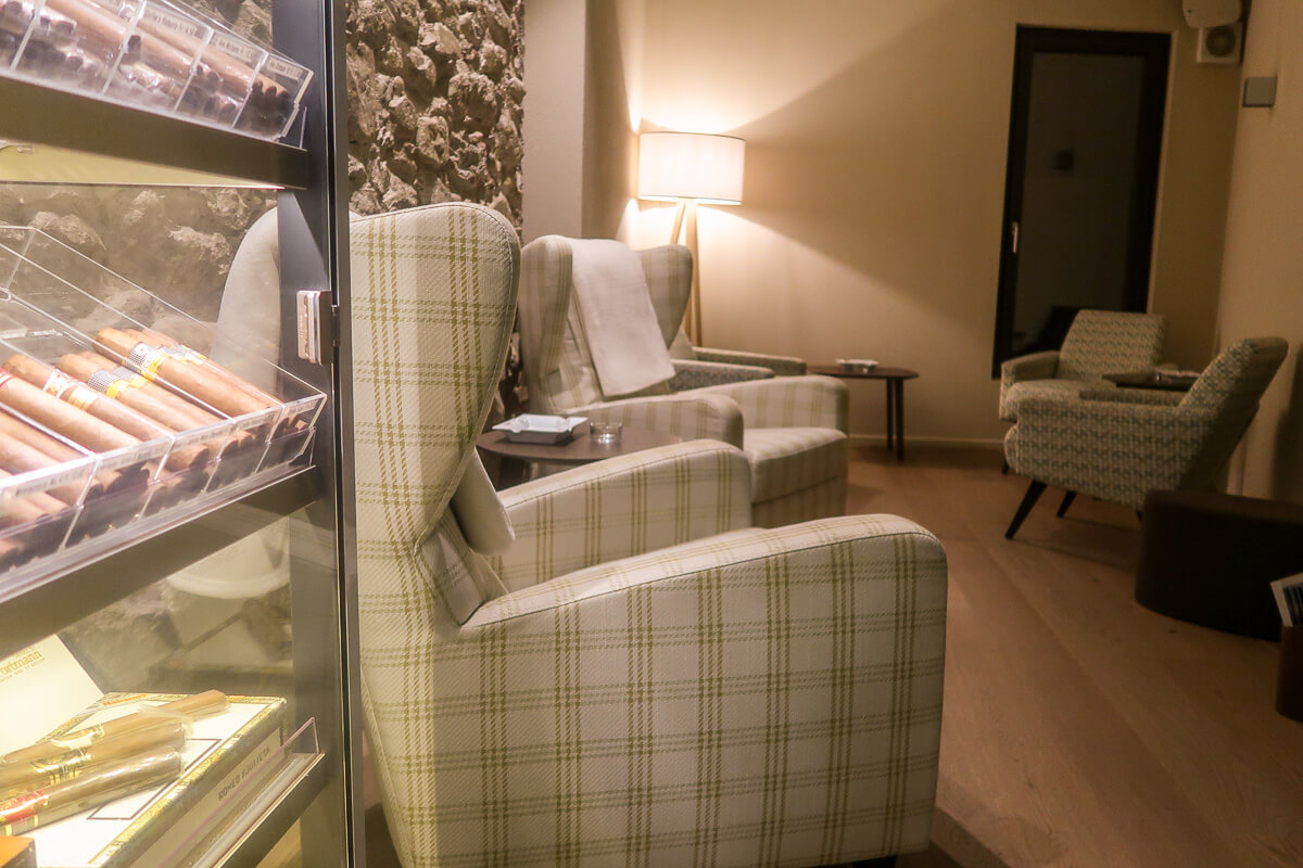 Cigarrenlounge im Thurgau: Juckers Boutique Hotel Tägerwilen