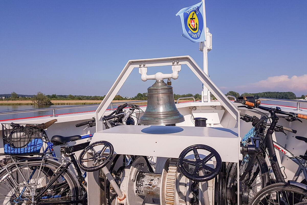 Schifffahrt auf dem Untersee mit der URh