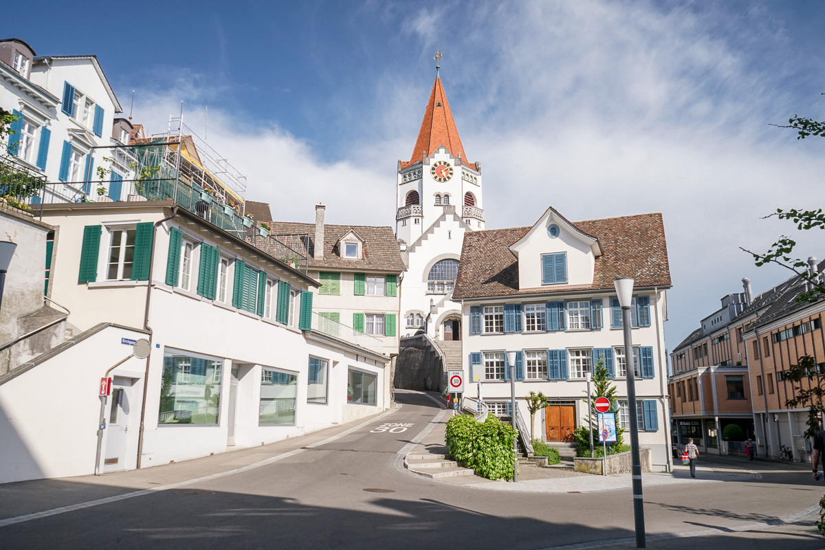 Weinweg Weinfelden: Durch die Stadt