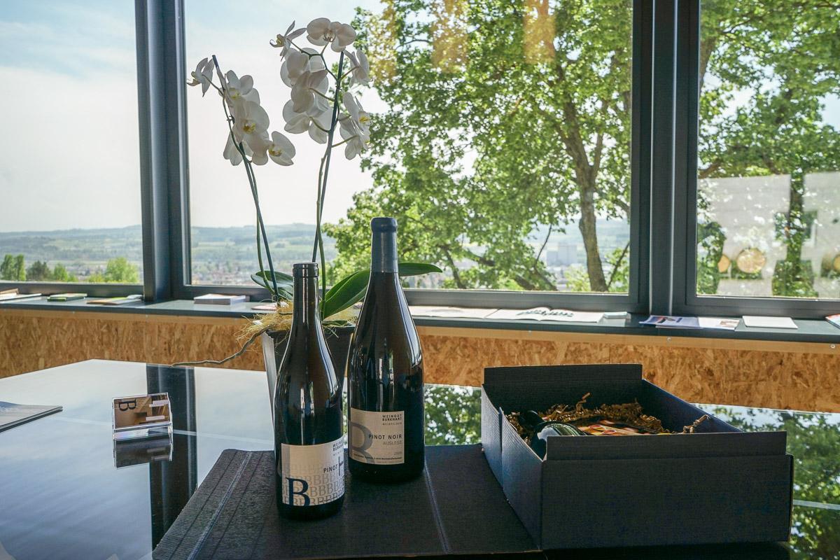 Weingut Burkhart: Gute Weine aus dem Thurgau