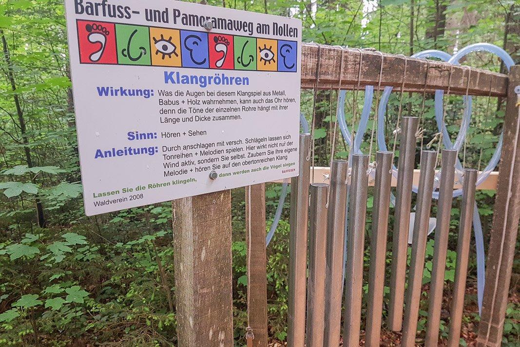 Wanderung für Kinder: Barfussweg Wuppenau Thurgau