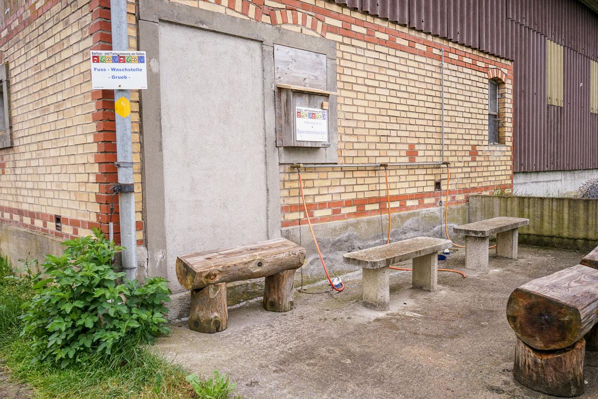 Familienwanderung im Thurgau: Barfuss- und Panoramaweg Wuppenau