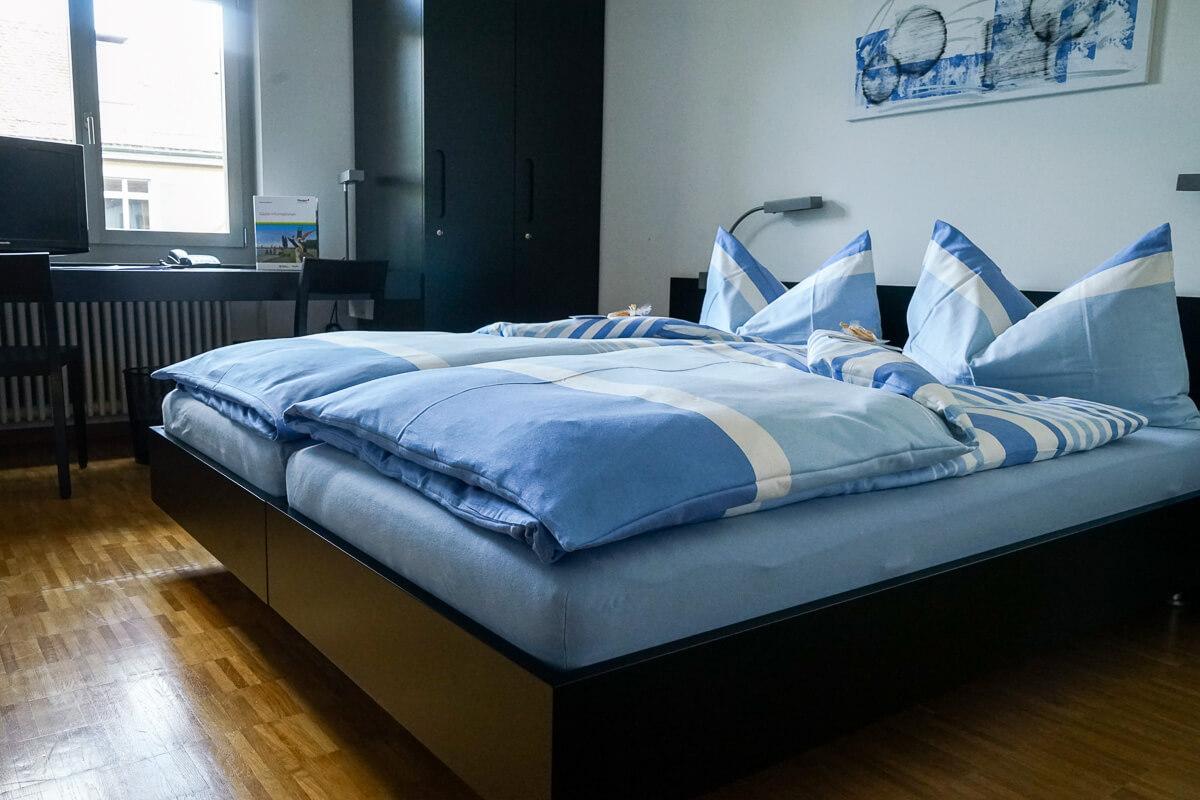 Übernachten im Arenenberg: Zimmer