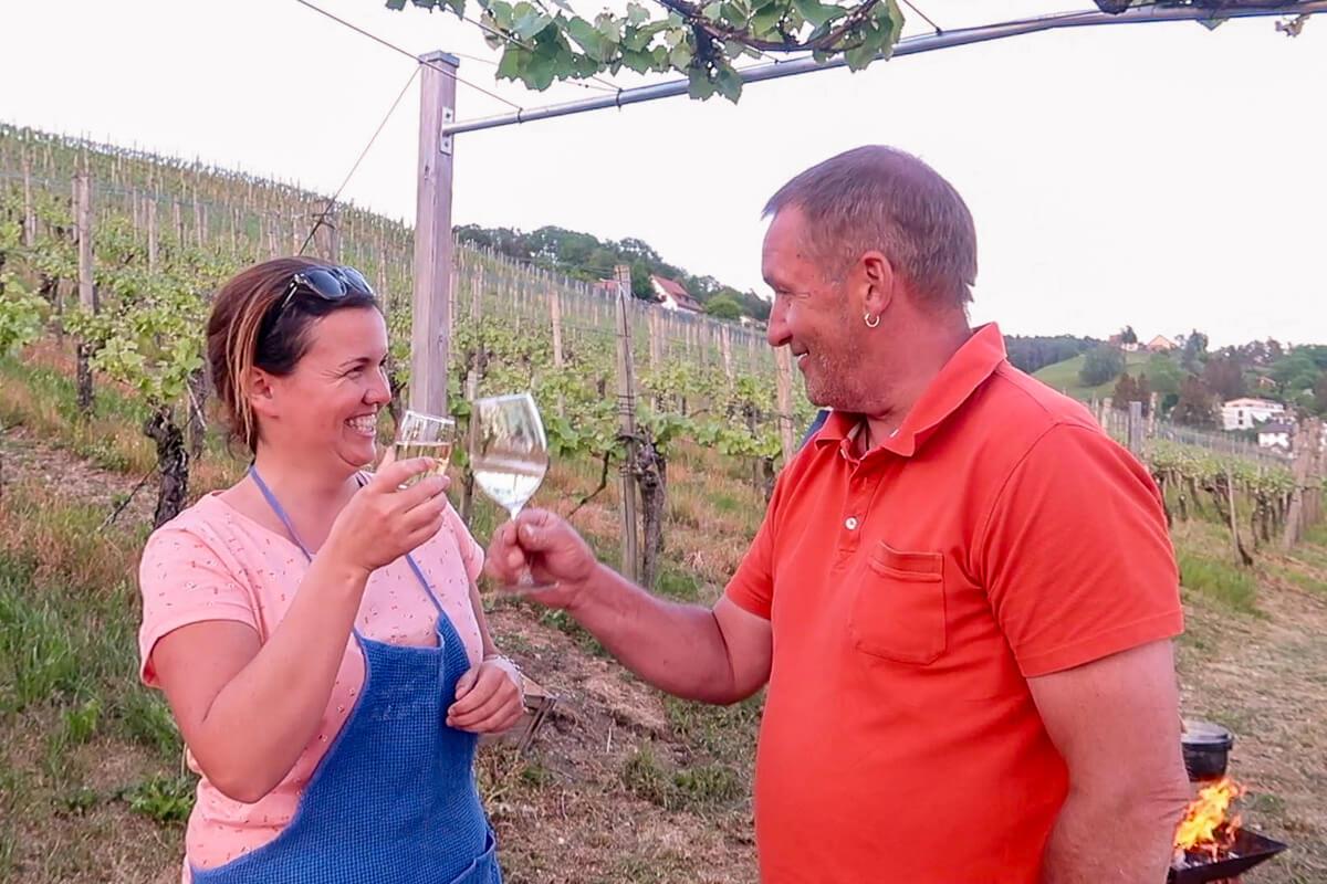 Saxer Weingut aus Nussbaumen - Jimmy Saxer