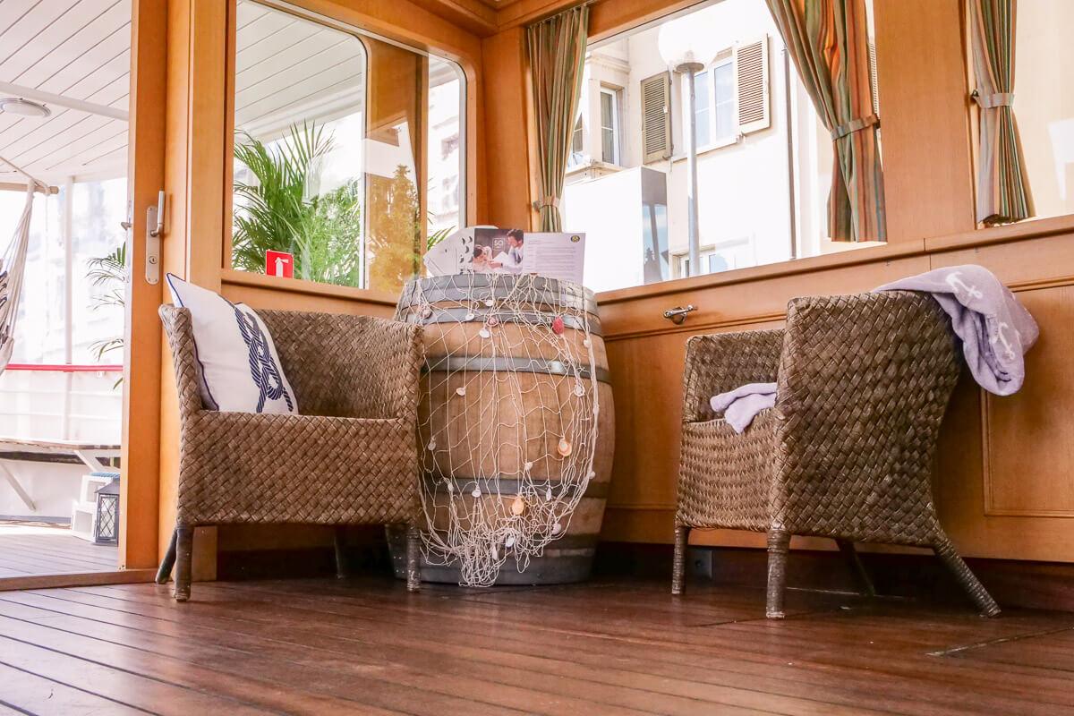 Erfahrungsbericht zum Kursschiff Pop-Up Hotel in Schaffhausen