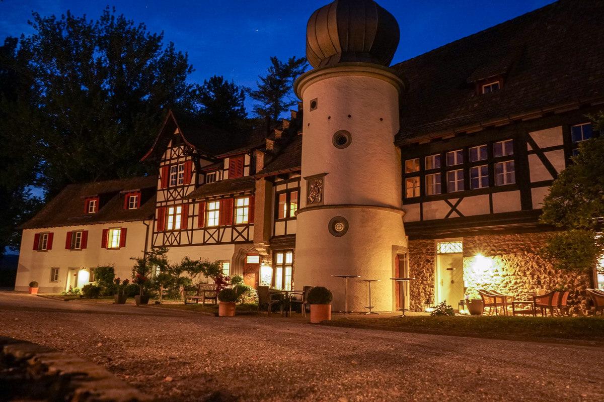Feldbach Restaurant bei Nacht