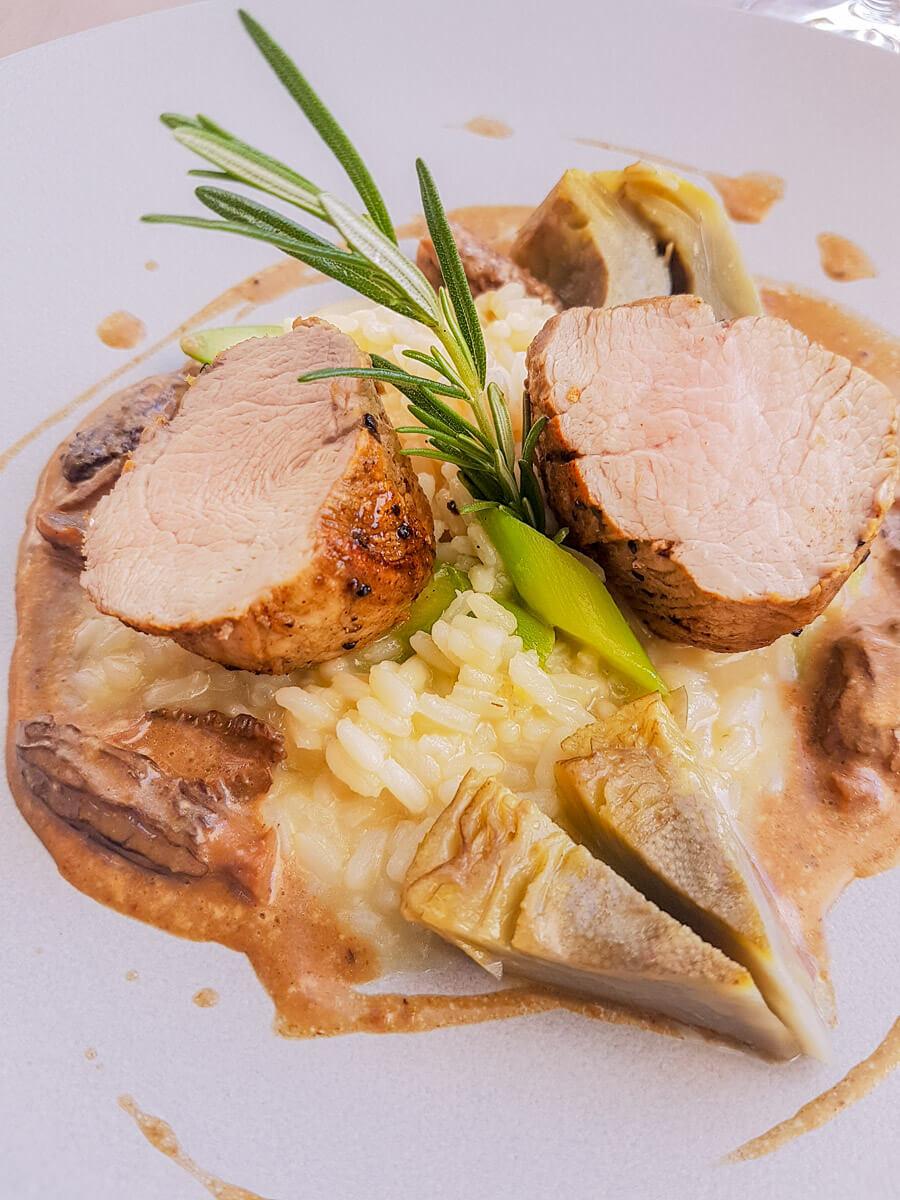 Gute Küche im Restaurant Wartegg, Wigoltingen